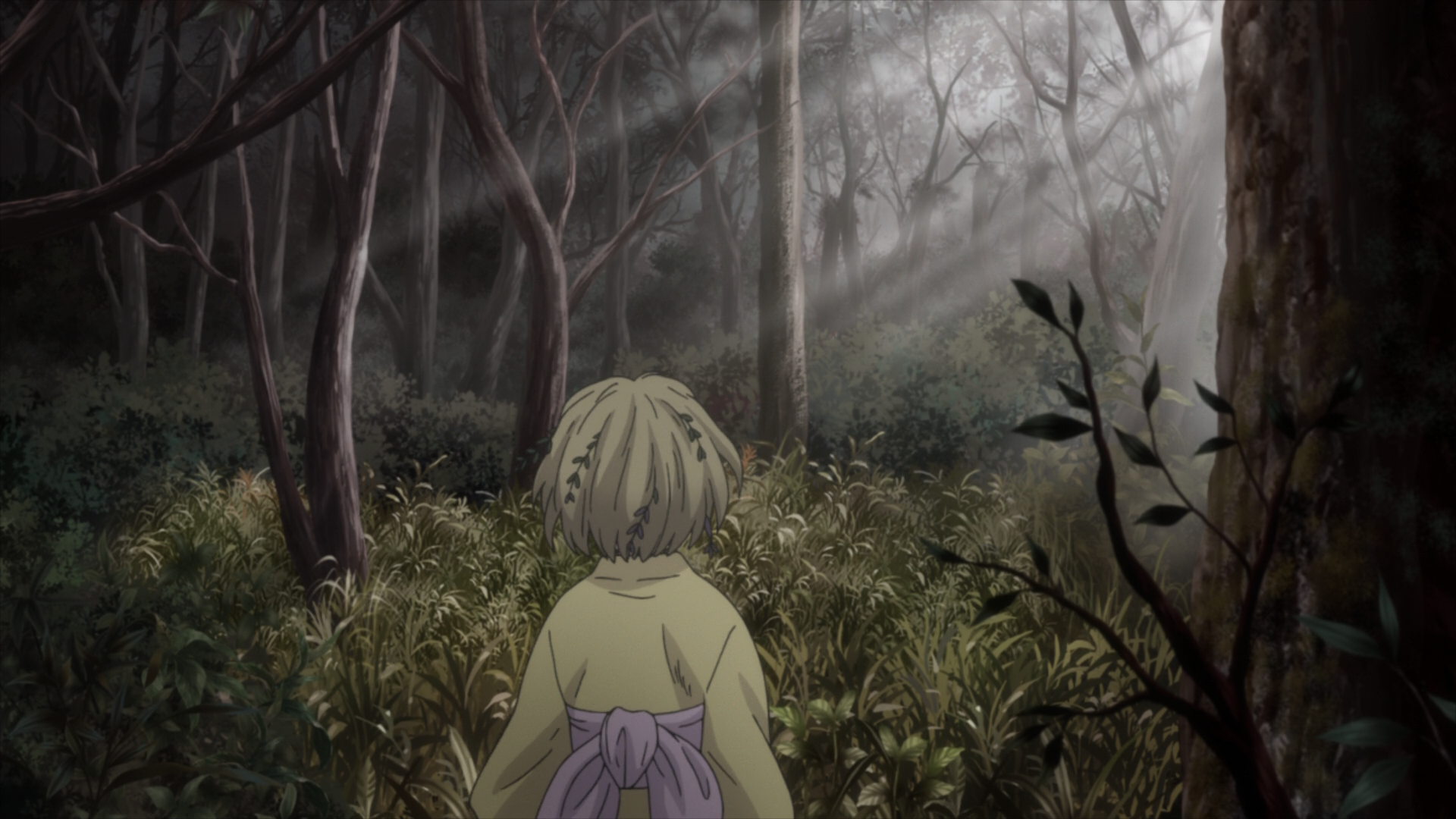Judgment - Comparison Index - Mushishi Zoku Shou - Suzu no Shizuku ...